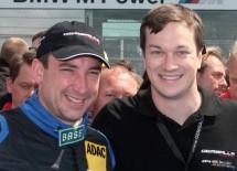 Besitzer Steffen Korbach und Team Manager Sascha Bert von Gemballa racing