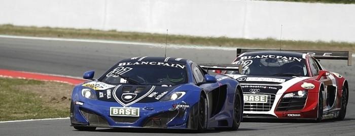 Der Gemballa racing McLaren beim ADAC GT Masters in Oschersleben