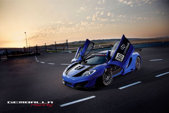 """GEMBALLA racing"" McLaren MP4-12C GT3"