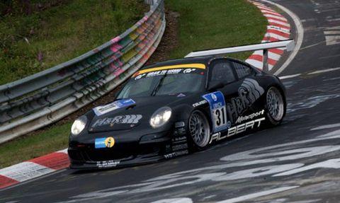Sascha Bert im Porsche 911 GT3 Cup S von Jürgen Alzen Motorsport